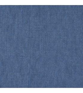 Côté lin lavé Bleu paon